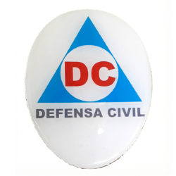PLACA DEFENSA CIVIL DOME